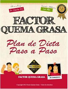 FACTOR QUEMA GRASA PDF LIBRO COMPLETO DR CHARLES DESCARGAR