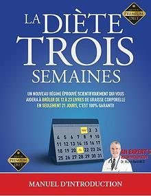 LA DIÈTE 3 SEMAINES PDF LIVRE COMPLET BRIAN FLATT GRATUIT