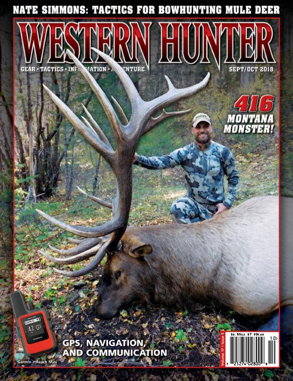 Western Hunter Magazine Sept/Oct 2018