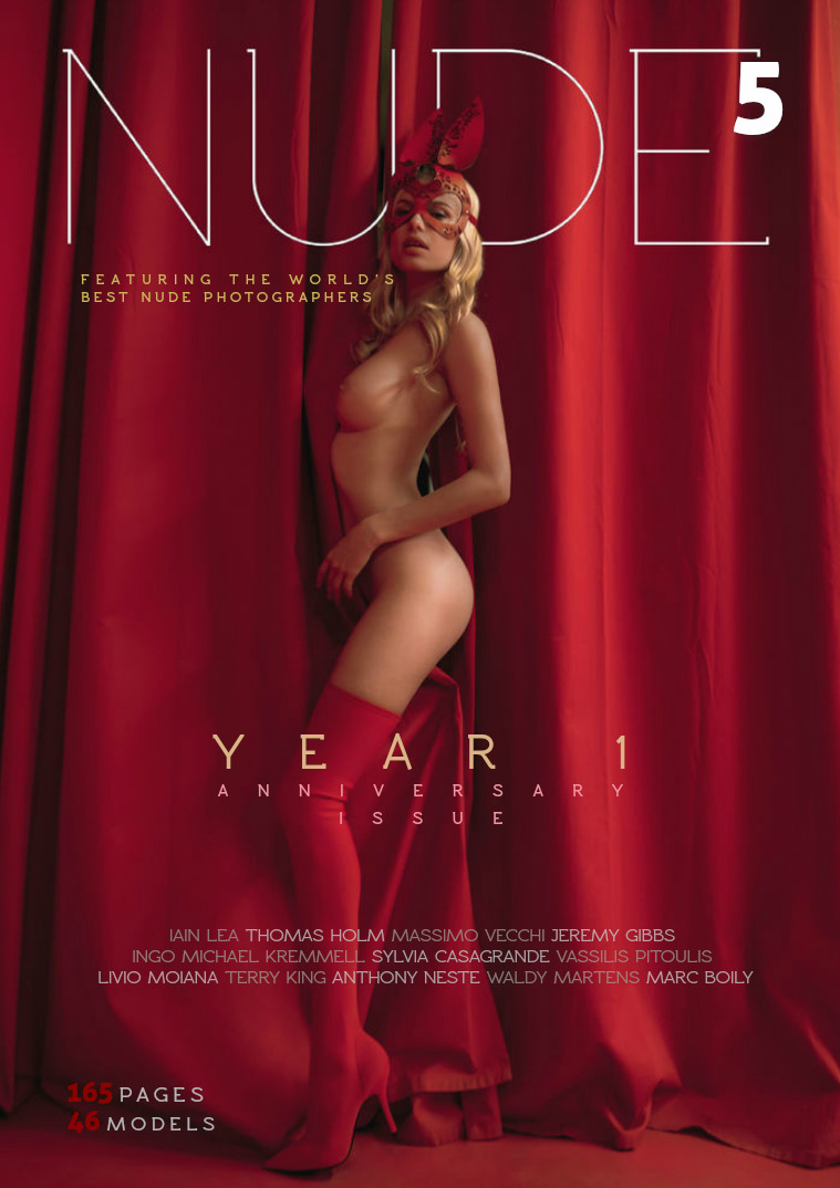 NUDE Magazine Numero  #5  Year 1 - Anniversary Issue