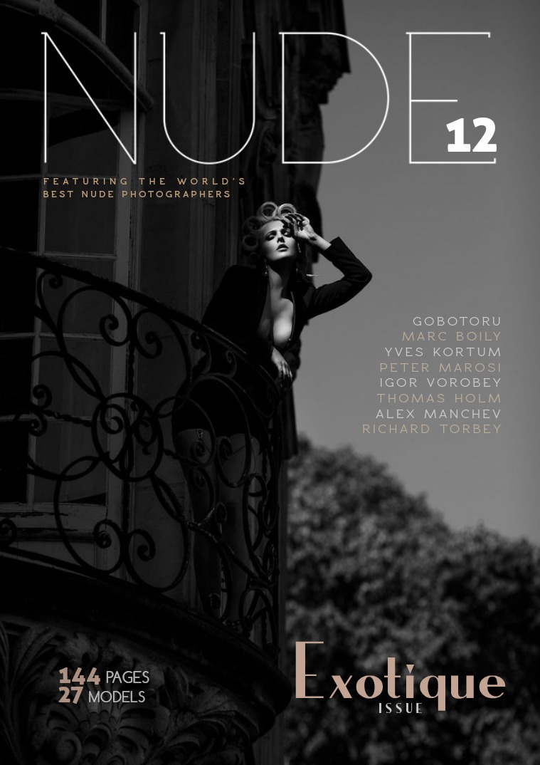 NUDE Magazine Numero #12  Exotique