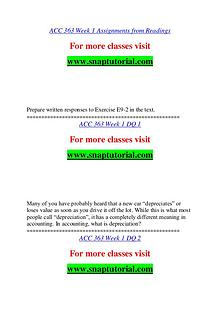ACC 363 help A Guide to career/Snaptutorial