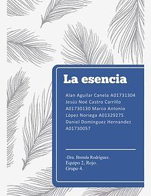 La esencia (Revista)