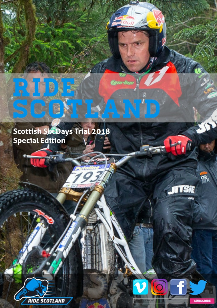 56º North Scottish Six Days Trial Special Edition