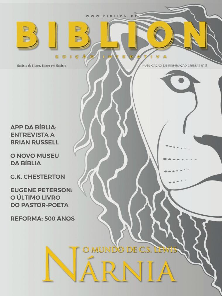 BIBLION MAGAZINE EDIÇÃO INTERATIVA (PT) #5 / SET-OUT 2017
