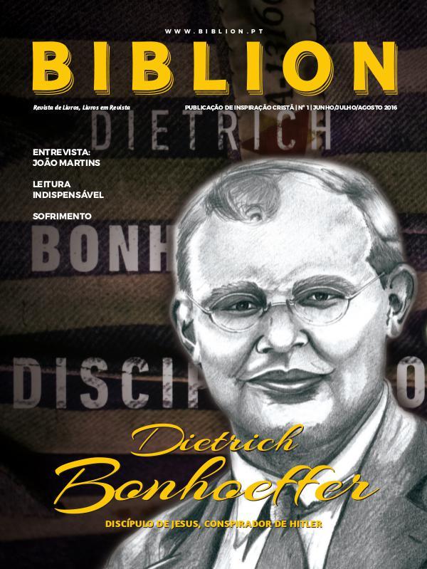 BIBLION MAGAZINE EDIÇÃO DIGITAL #1 / Verão 2016