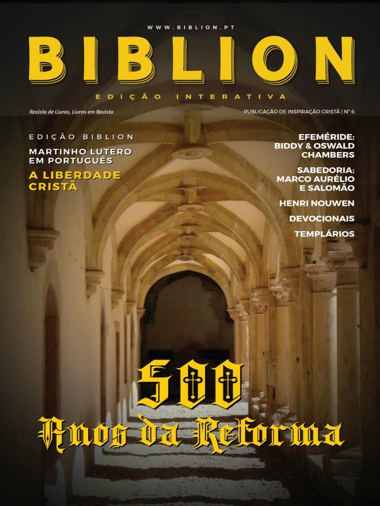 BIBLION MAGAZINE EDIÇÃO INTERATIVA (PT) #6 / NOV-DEZ 2017