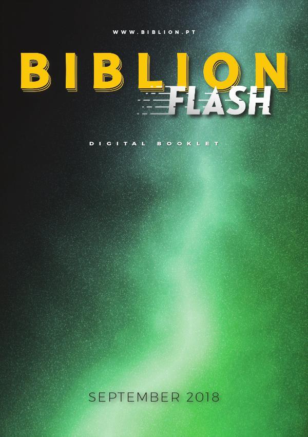 BIBLION MAGAZINE BIBLION FLASH (EN) #3 / SEP 2018