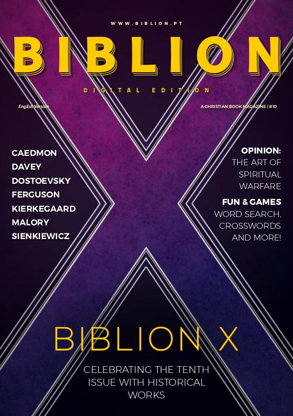 BIBLION MAGAZINE INTERATIVE EDITION (EN) #10 / OCT-DEC 2018