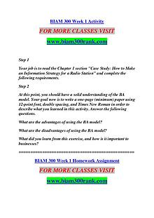 BIAM 300 RANK Keep Learning /biam300rank.com