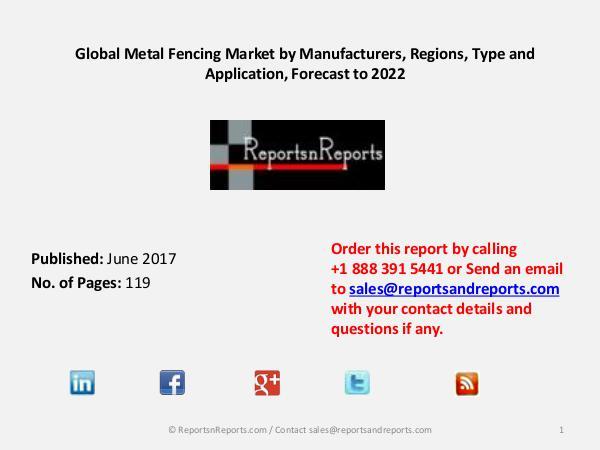 Metal Fencing Market 2017