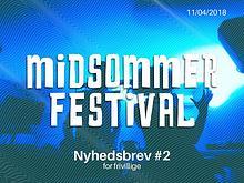 Midsommer Newsletter #1