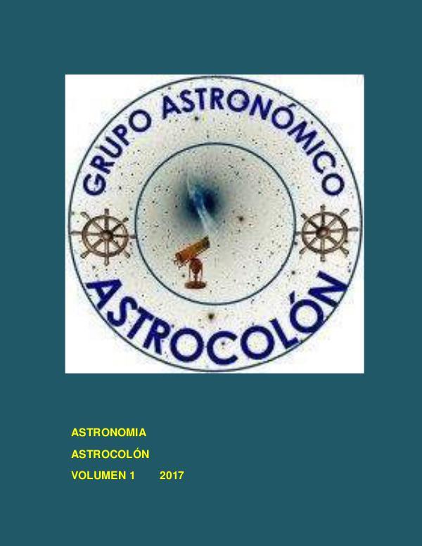 Libro de  Astronomía Colón 2017 LIBRO DE ASTRONOMIA 2017