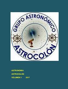 Libro de  Astronomía Colón 2017