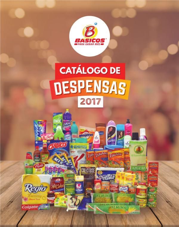 Catálogo de despensas 2017 Catálogo de despensas 2017