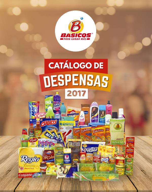 CATÁLOGO DE DESPENSAS 2017 CATALOGO DE DESPENSAS 2017