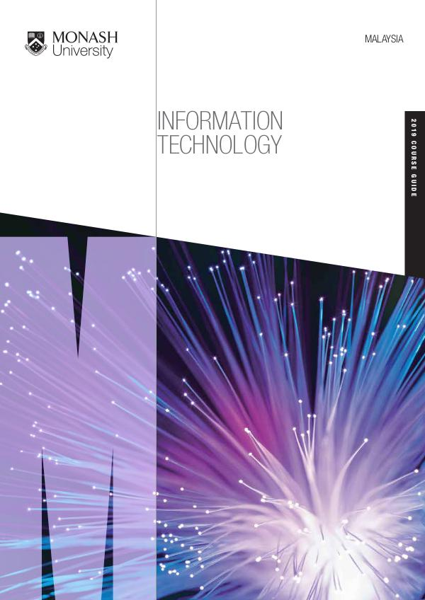 Course Guides 2019 School of Information Technology