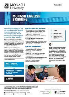 Monash English Bridging