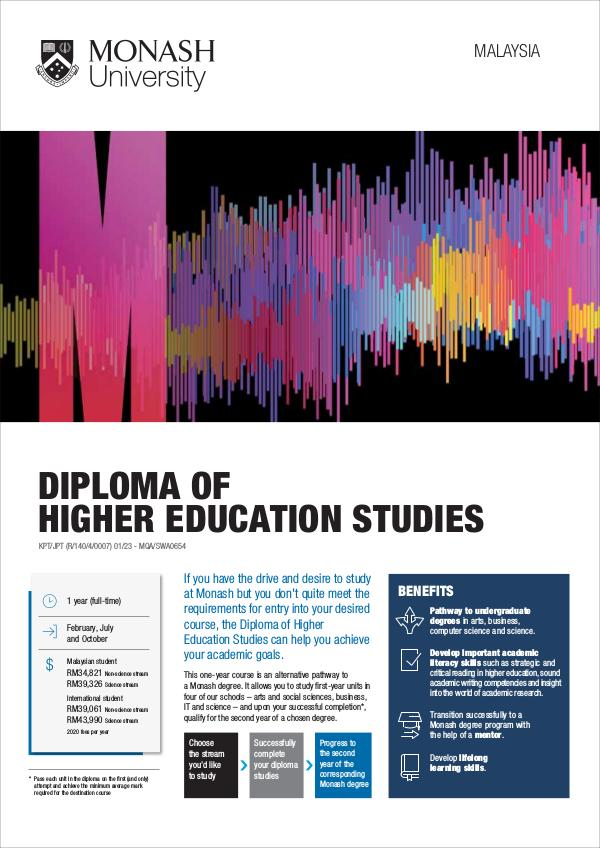 Diploma of Higher Education Studies Nov 2019