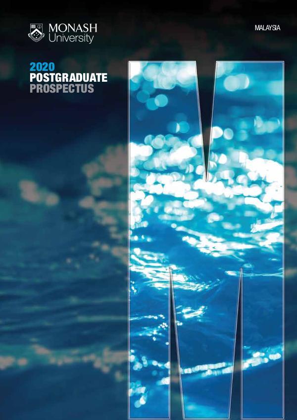 Postgraduate Prospectus 2018 2020 (October 2020)