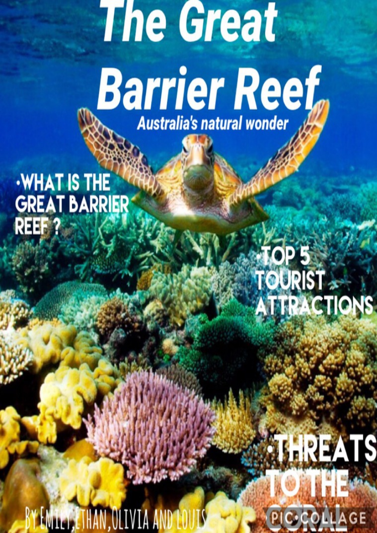 THE GREAT BARRIER REEF | Australia's Natural wonder The great barrier reef