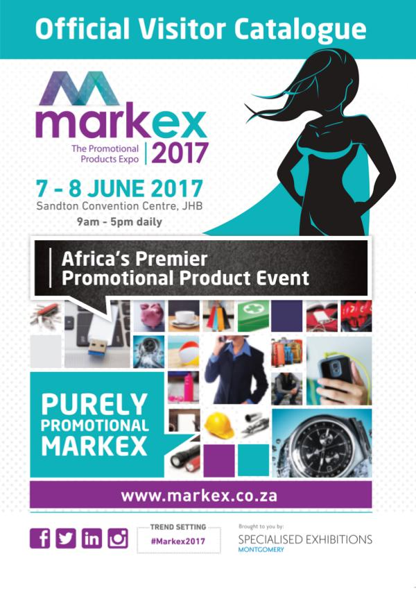 Markex 2017 Visitor Catalogue Markex Official Visitor Catalogue