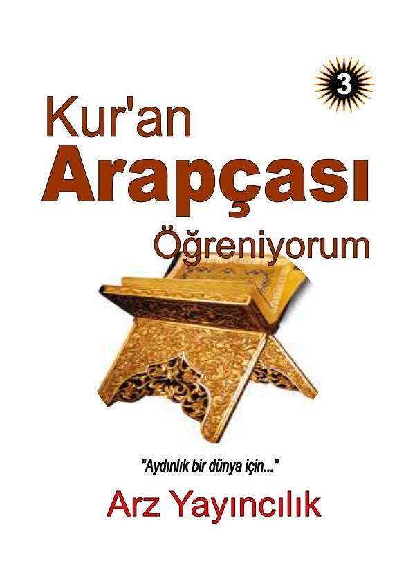 ARAPÇA ÖĞRENİYORUM DERGİSİ 03.kitap KAO