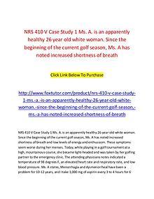 NRS 410 V All assignment
