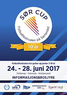 Sør Cup Informasjonsbrosjyre 2017