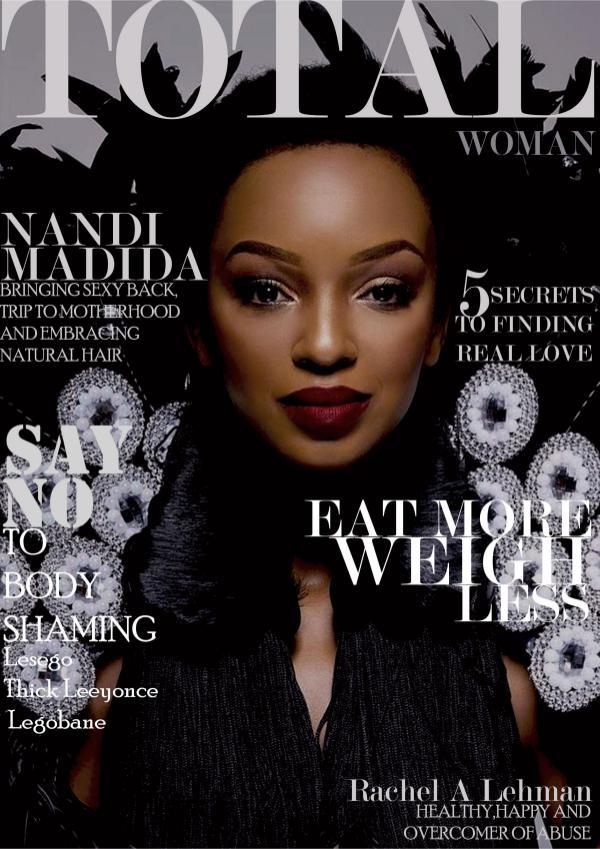TOTAL WOMAN MAGAZINE NOVEMBER EDITION 2017