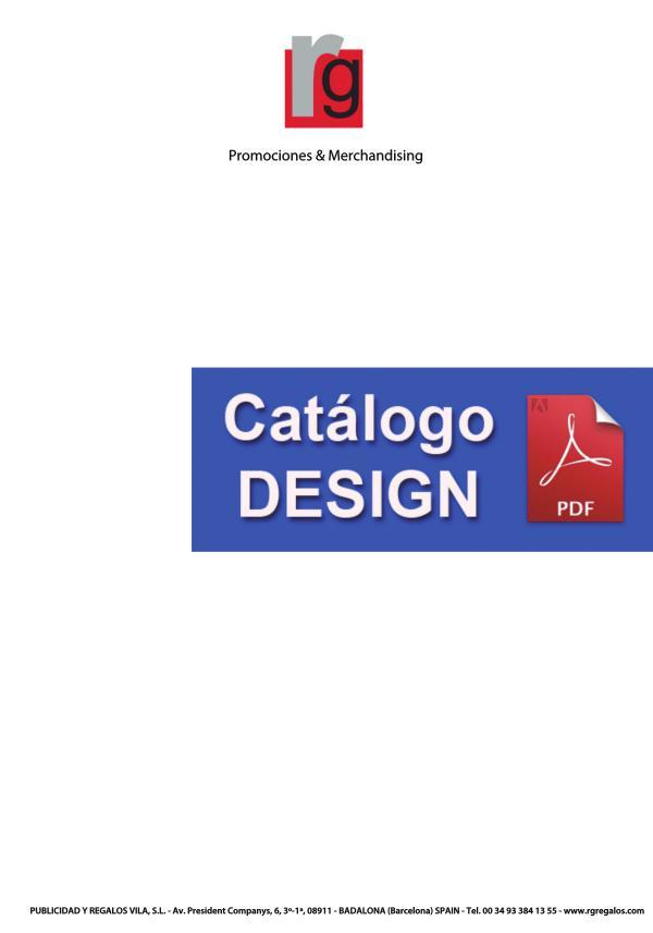 CATÁLOGO DESIGN RG REGALOS CATALOGO WEB DESIGN