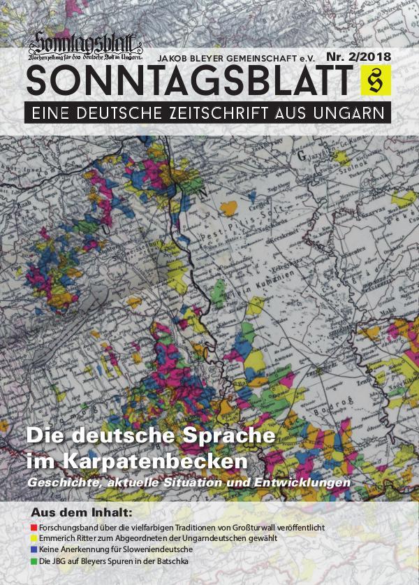 Sonntagsblatt 2/2018