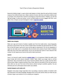 Effective Digital Marketing Strategies Promotes Your Return On Invest