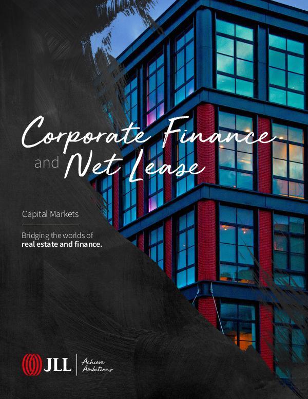 Corporate Finance Brochure JLL CFNL Overview Brochure_FINAL