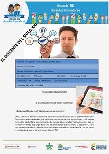 EL DOCENTE DEL SIGLO XXI- PLAN COACH EDUCATIVO TIC