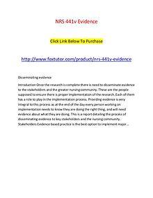 NRS 441v Evidence