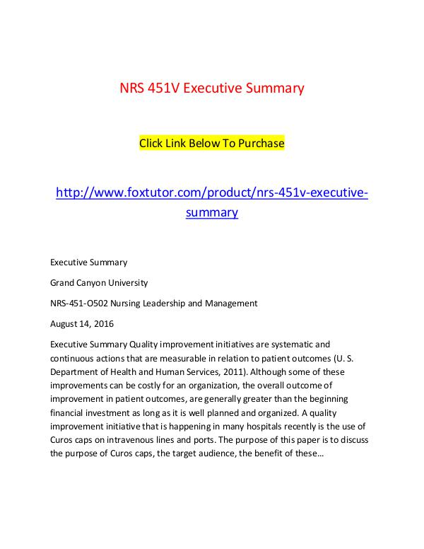 NRS 451V All Assignments NRS 451V All Assignments