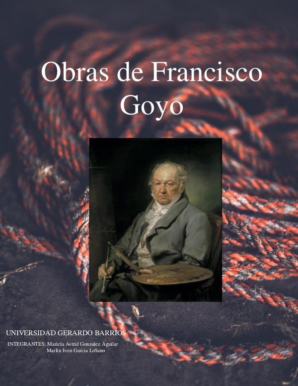 Revista Digital Francisco de Goya revista