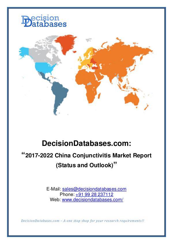 Market Report China Conjunctivitis Market Report 2017-2022