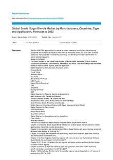 Europe Spirulina Market: key Vendors,Trends,Analysis Forecast to 2022