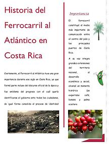 Historia del Ferrocarril al Atlántico en Costa Rica