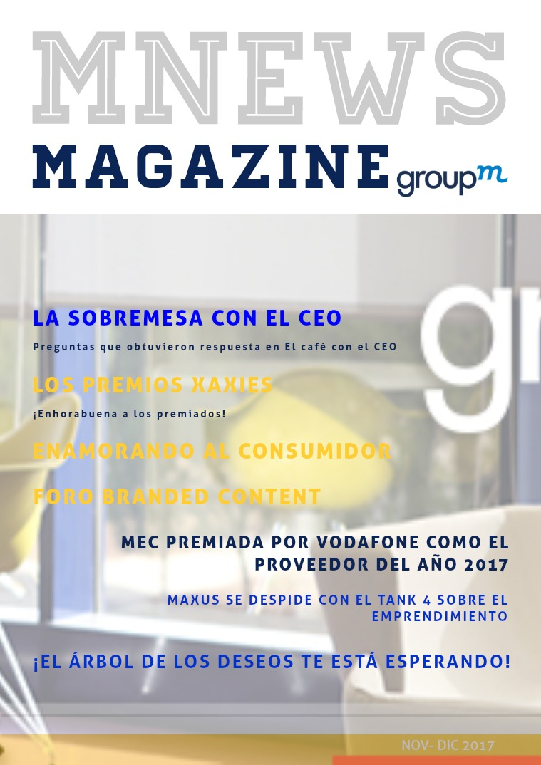 MNews by GroupM Revista Interna GroupM