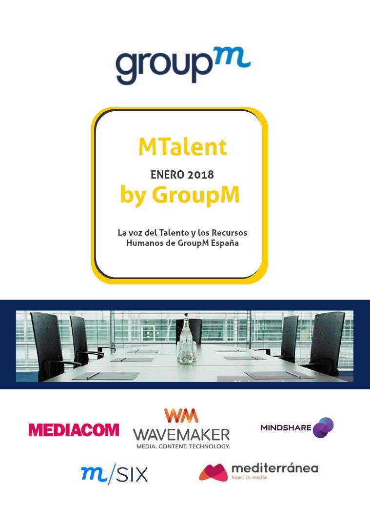 MTalent by GroupM España Número V- Enero 2018