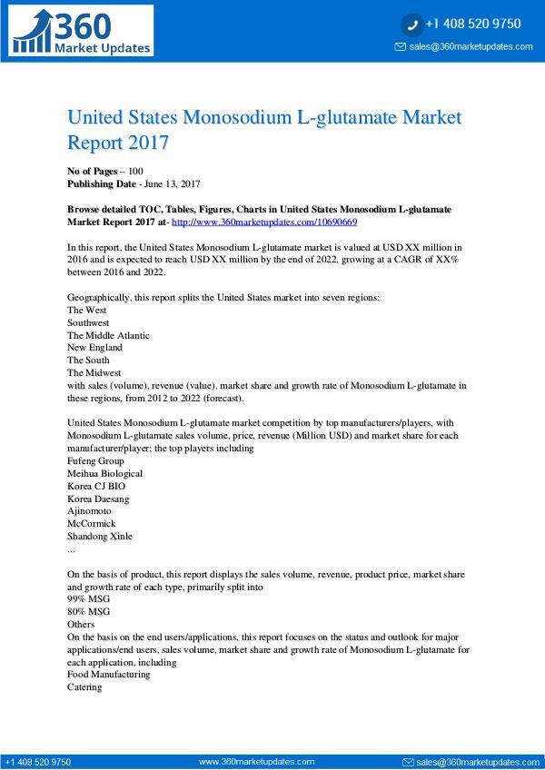 PR United-States-Monosodium-L-glutamate-Market-Report