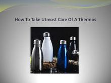 Tips For Purchasing Best Coffee Thermos