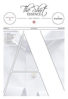 The Shirt Essence / ASONI spring/summer 18