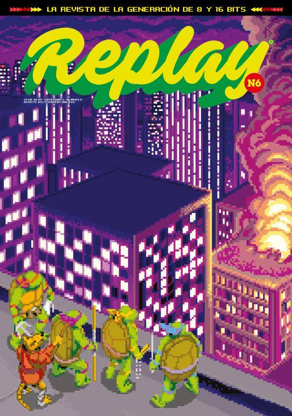 Revista Replay Nº6 · Agosto 2017