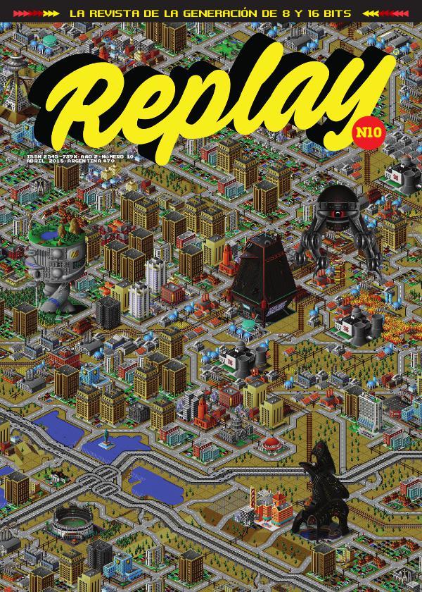 Revista Replay Nº10 · Abril 2018