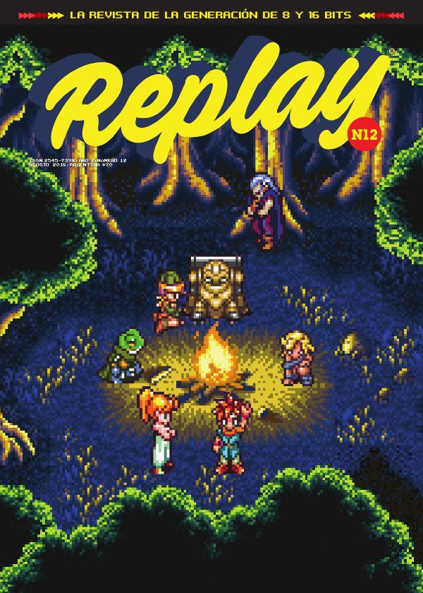 Revista Replay Nº12 · Agosto 2018