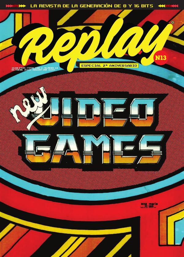 Revista Replay Nº13 · Octubre 2018